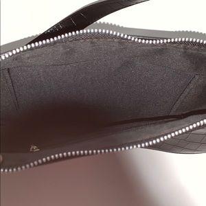 Forever 21 Bags - Faux Croc Black Baguette